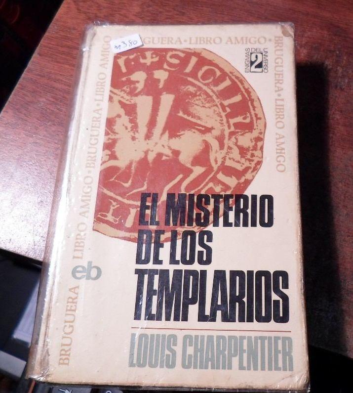 Portada de la primera edición de Los Misterios Templarios de Louis Charpentier