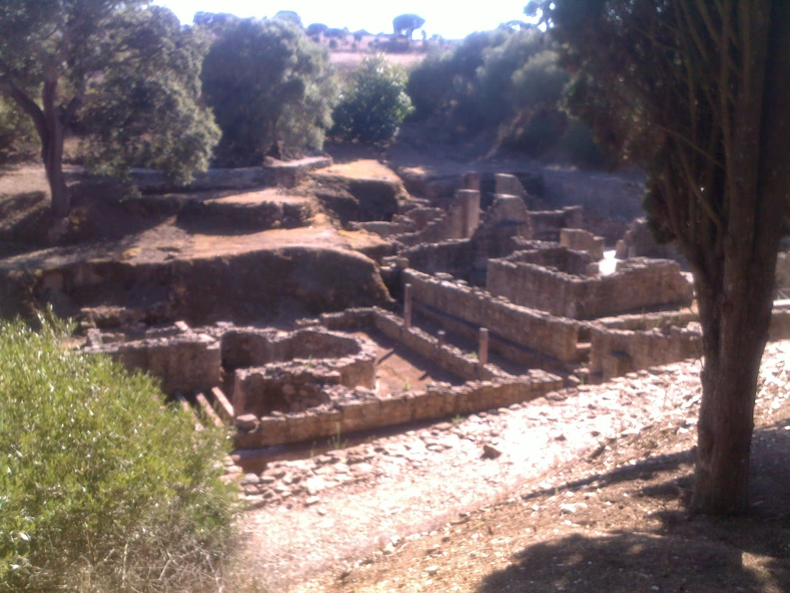 roman ruins, Miróbriga, Portugal