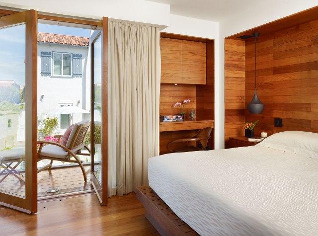 Desain interior kamar tidur ukuran kecil