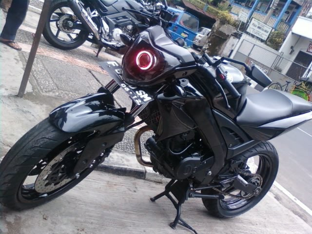 Modifikasi Motor Yamaha Jupiter F1