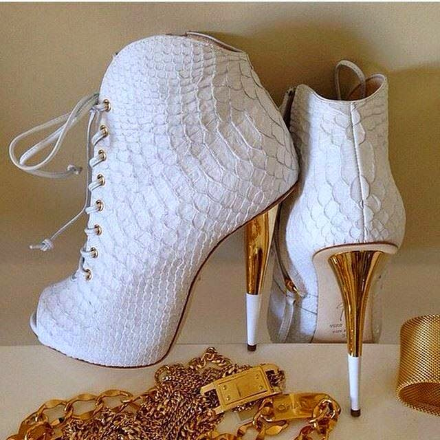 Ankle Booties Design #1.