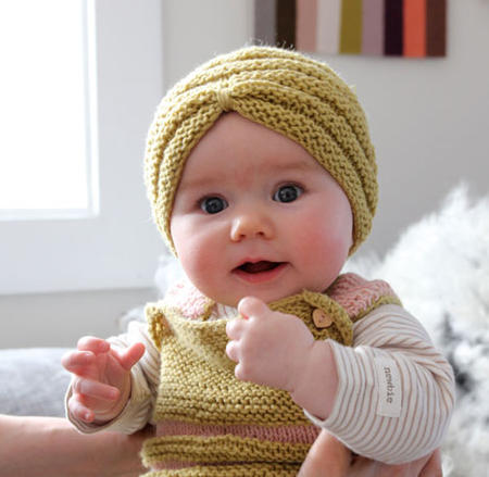 This is both funny AND stylish! Turbans are coming back in a big way but  how about this- Baby turbans! YAY! Who da thunk it  fda34726ab9
