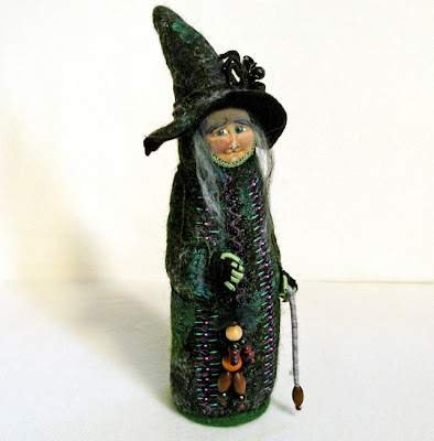 Ma Bicyclette: Buy Handmade | A Folksy Halloween - Witch Doll
