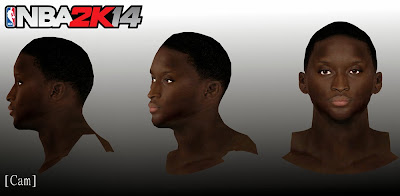 NBA 2K14 Victor Oladipo Cyberface Mod