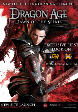 Dragon Age: Dawn Of The Seeker 2012 poster
