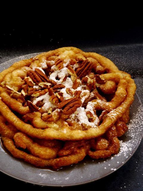 Homemade Funnel Cake Recipe on Gift Style Blog Gave That