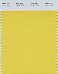 Minion geel erkend als kleur