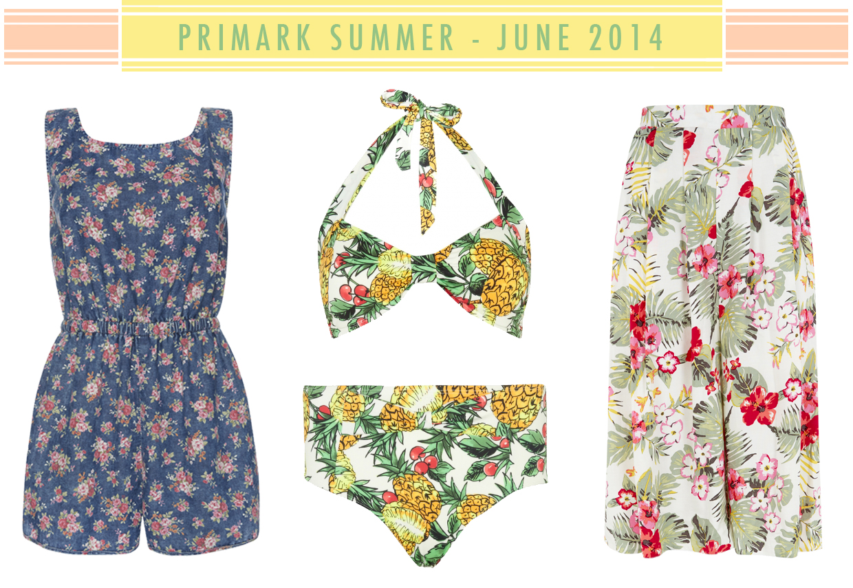 Primark Summer collection 2014