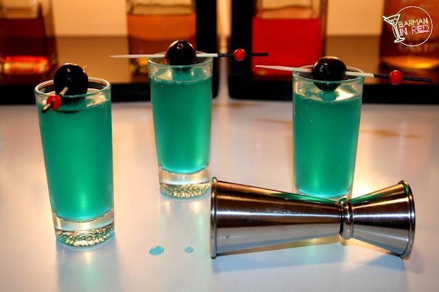 shots sueños azules