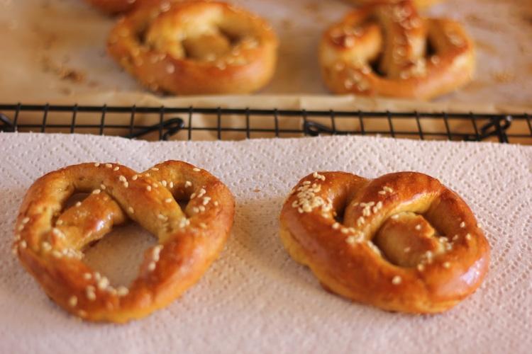 Breadmaker Pretzels