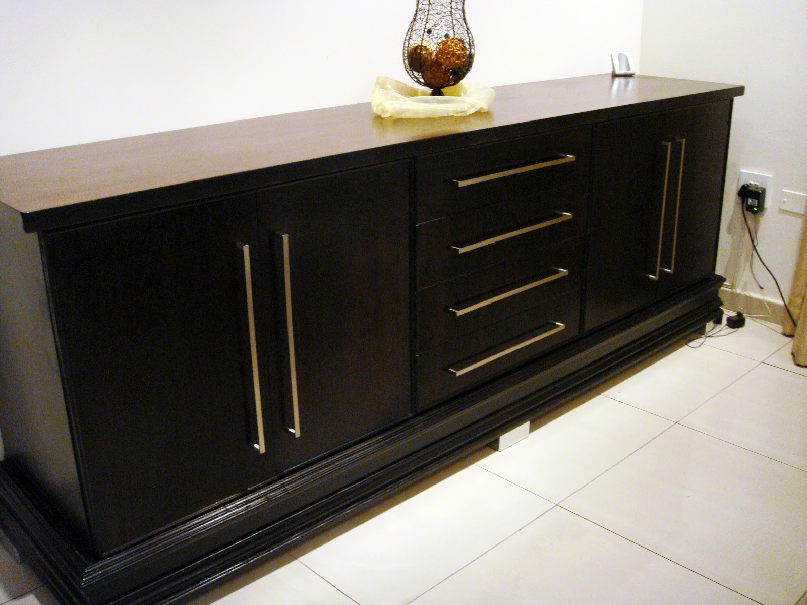 custom carpentry dining room sideboard