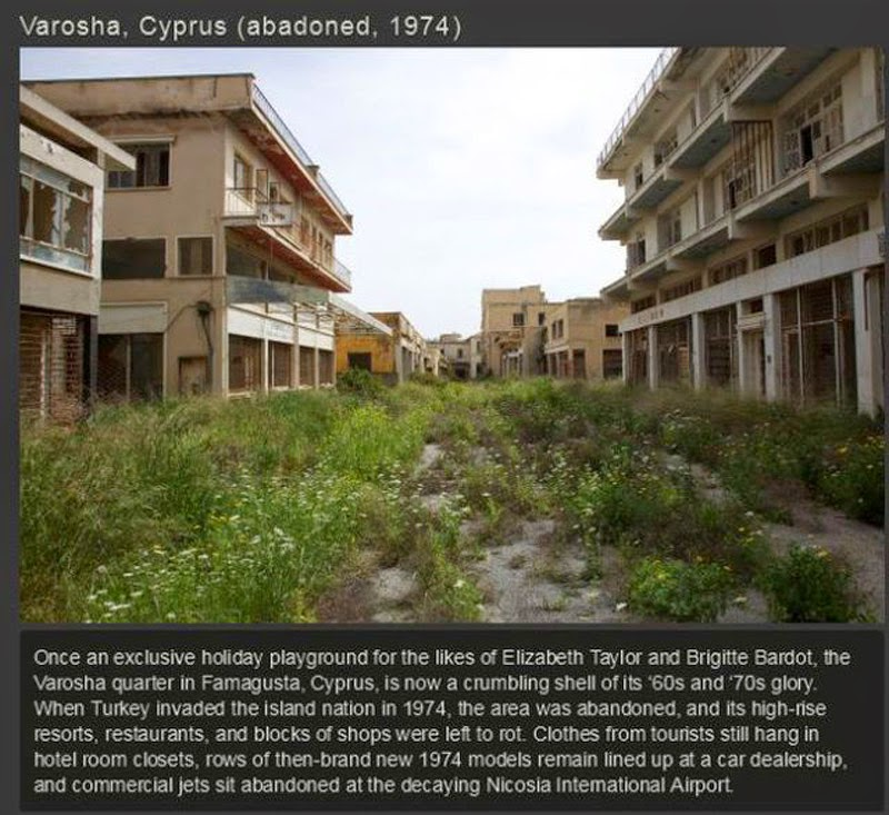 Ghost Towns From All Over The World