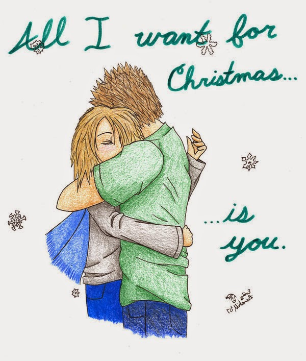 Merry Christmas to girlfriend love quotes her him romantic boyfriend line text sms messgae wishes greeting card wallpaper image pics photo