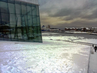 oslo inverno neve