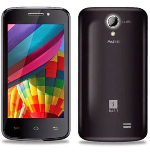 eBay: Buy iBall Andi 4B2 (3G) mobile at Rs. 2982 only