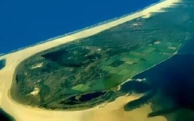 Pulau Schiermonnikoog, pulau yang selalu pindah tempat