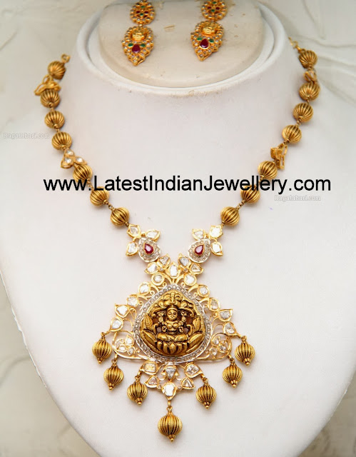 Antique Gold Temple Jewellery