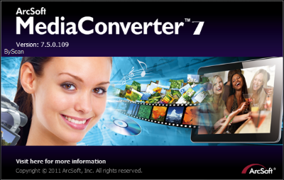 Free Download ArcSoft MediaConverter v7.5.0.109 Software Portable Gratis
