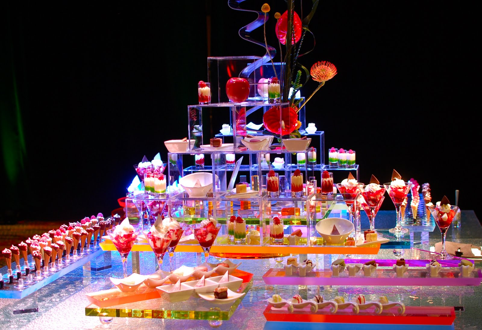 Food Buffet Displays http://myhotellife.blogspot.com/2011/07/food-sex-june.html