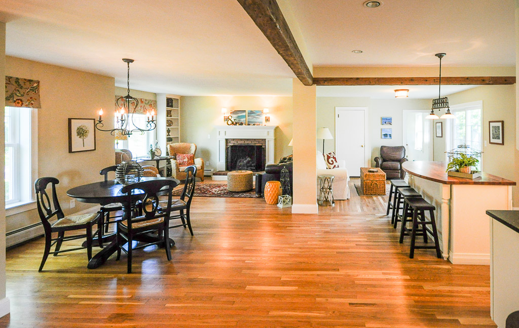 SoPo Cottage Creating An Open Floor Plan From A 1940s Ranch Home - Pictures Of Open Floor Plans