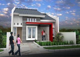 Desain Rumah Minimalis Modern Type 36 yang Simpel dan Trendi