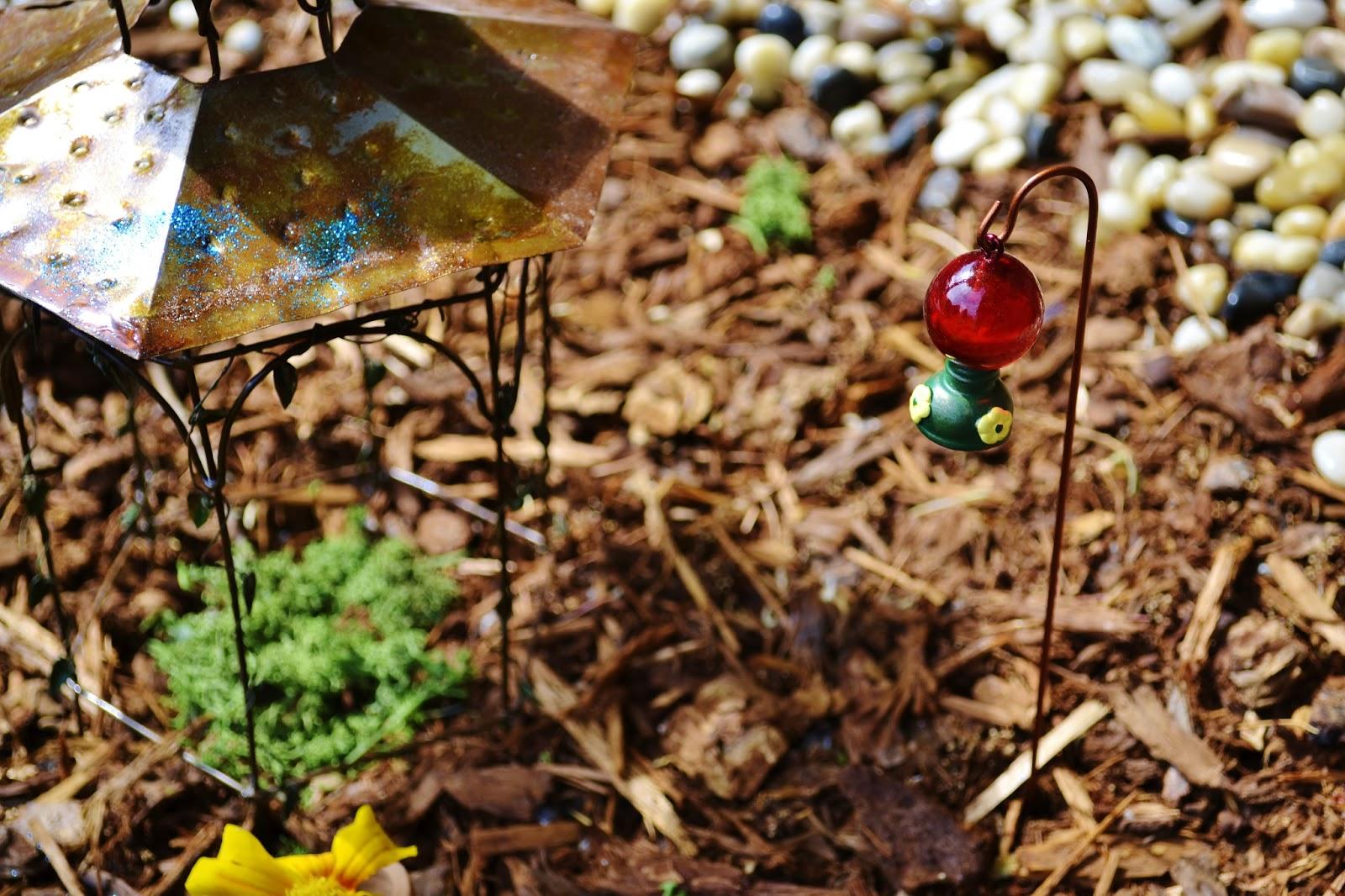 Julia\'s Bookbag: We Made a Fairy Garden