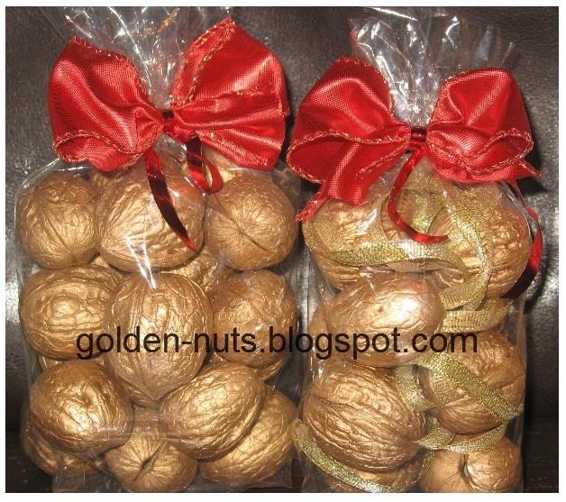 Как сделать подарок из орехов 71