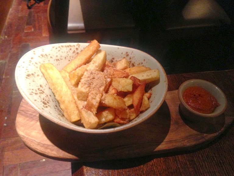 ember yard pork fat chips