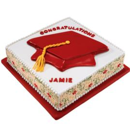 Bake, eat, love.: Graduation cookies, cupcakes and cakes
