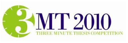 ... is the winner of last year's Three Minute Thesis competition