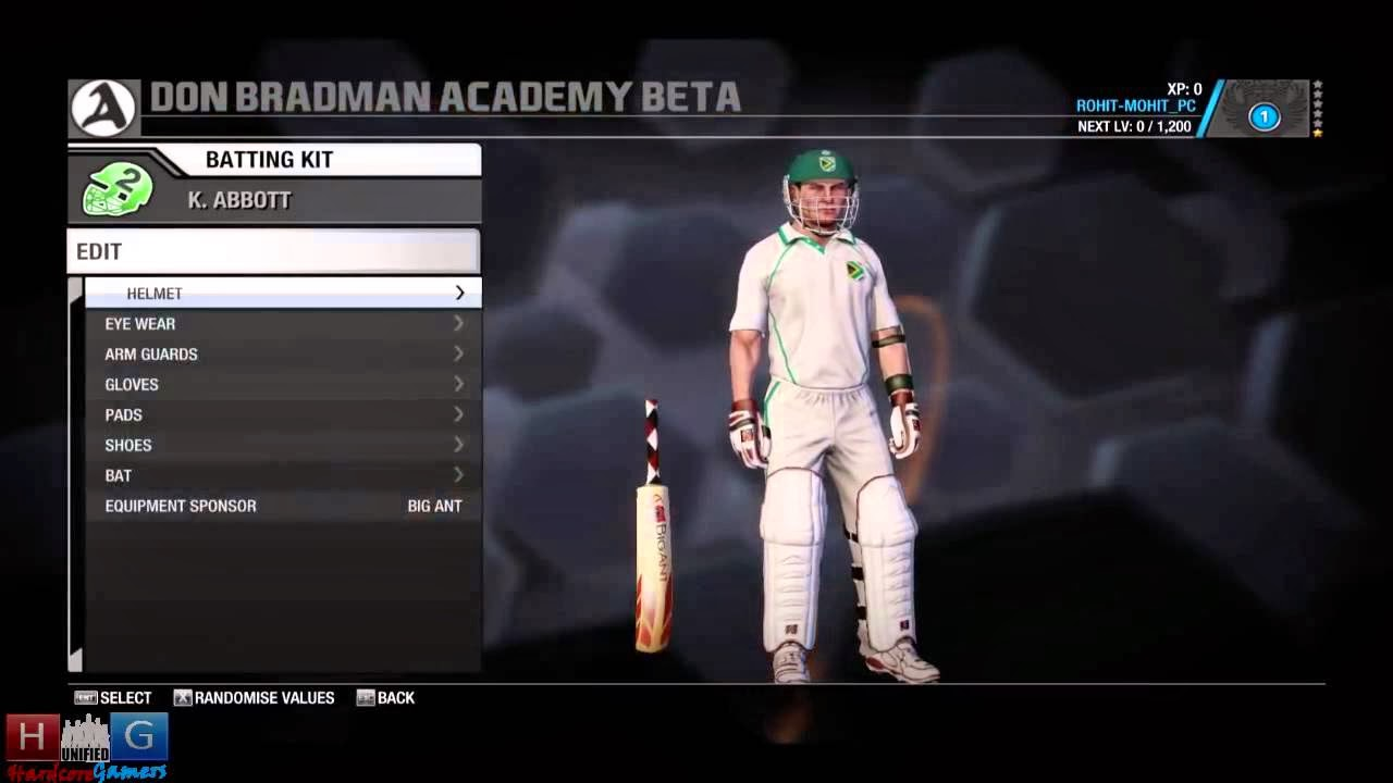 Don Bradman Cricket 14 Download - 70.0KB