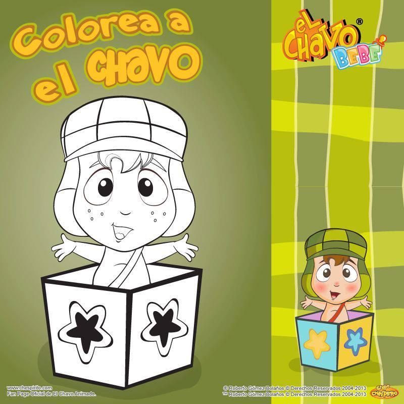 Del Chavo Animado Para Colorear Chavo Animado Bebé Para