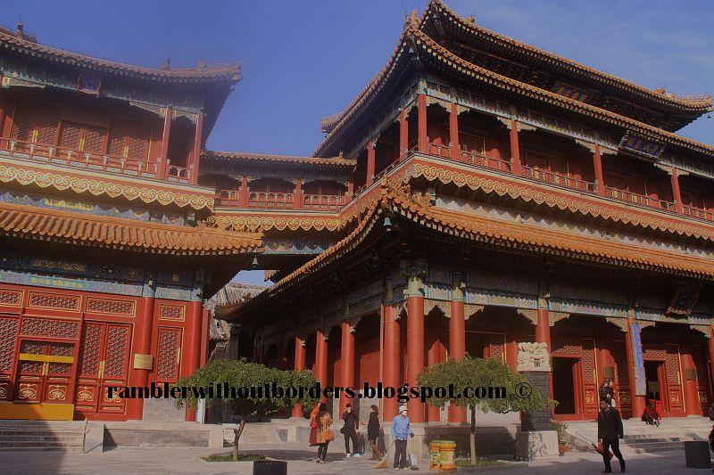 yonghegong, yonghe palace lamasery, Beijing, China
