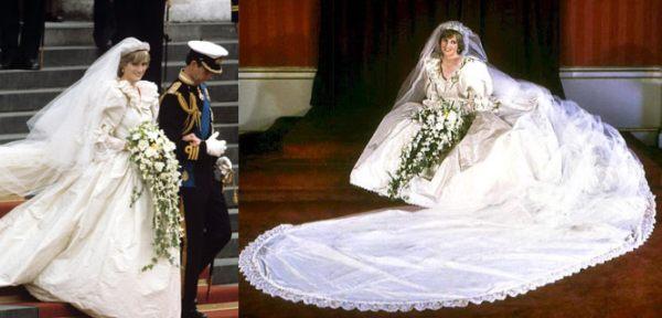 Princess Dianas Wedding Gown Price NA