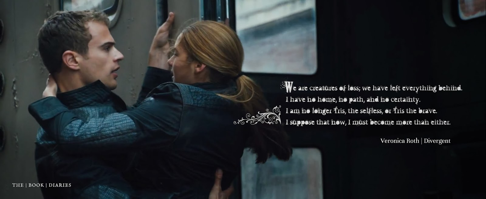 Four And Tris Divergent Quotes New Four And Tris Quot...
