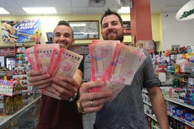 друзья-лотерейщики