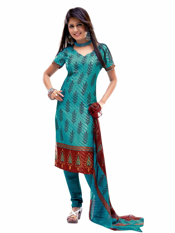 Fantastic Clothing Women S Clothing Ethnic Wear Dress Materials Vaamsi Dress