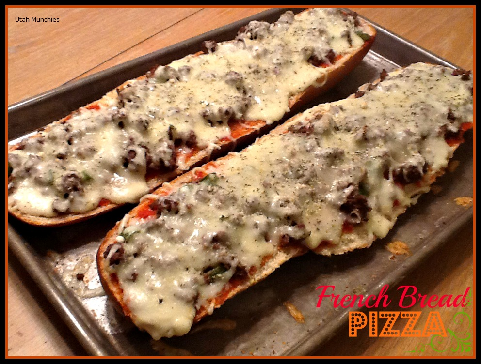 french bread pizza french bread pizza recipe two peas their the best ...
