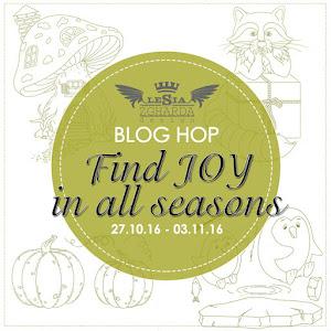 """Блог-хоп """"Find JOY in all seasons""""!"""