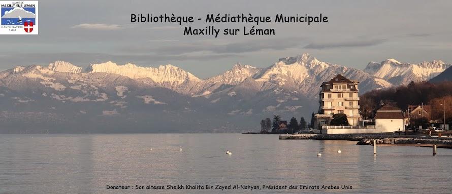 Bibliothèque - Médiathèque Maxilly sur Léman