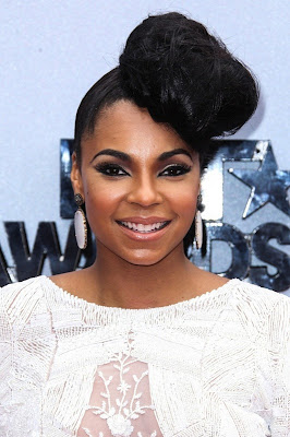 Singer Ashanti at the 2013 BET Awards.