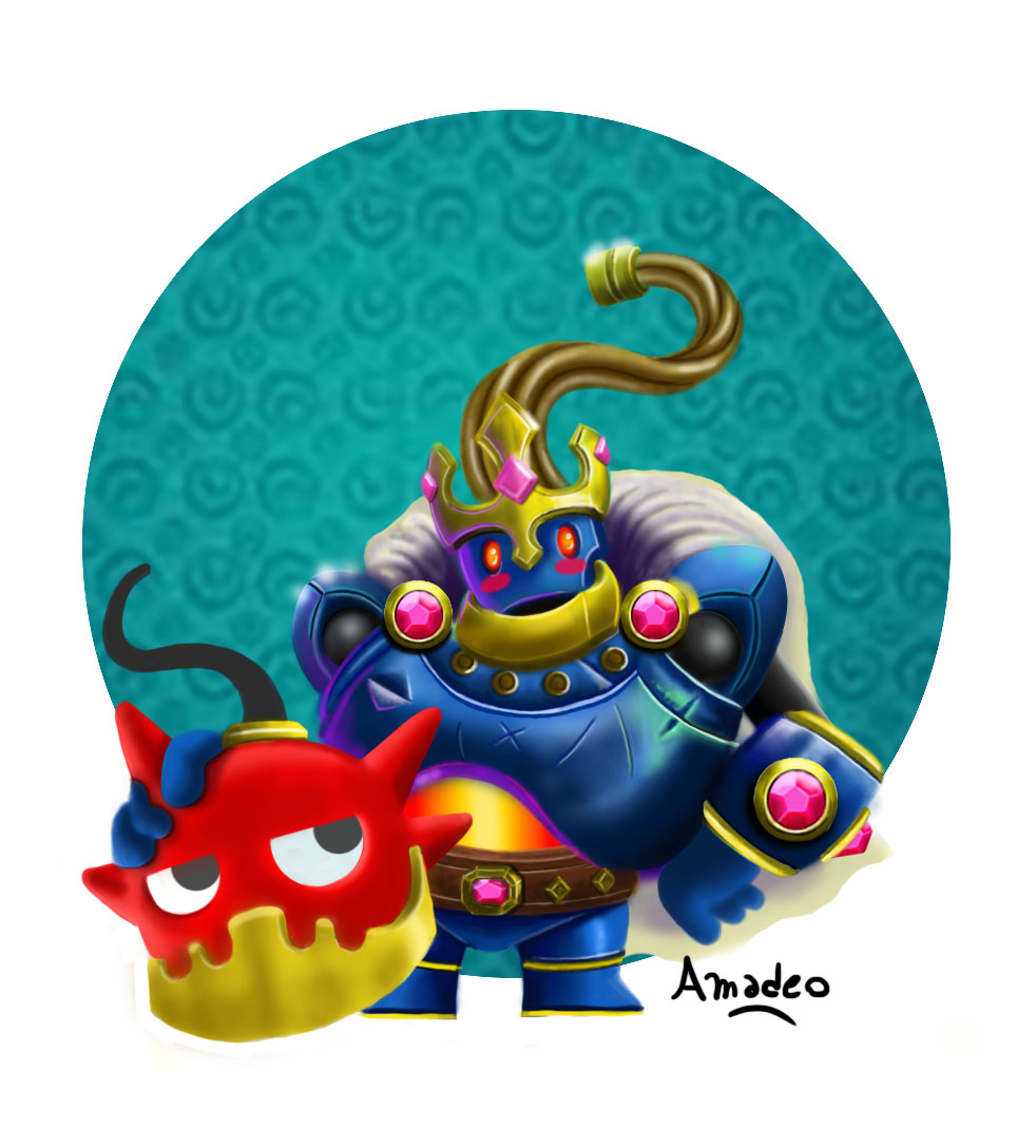 Fan Art Bomb King