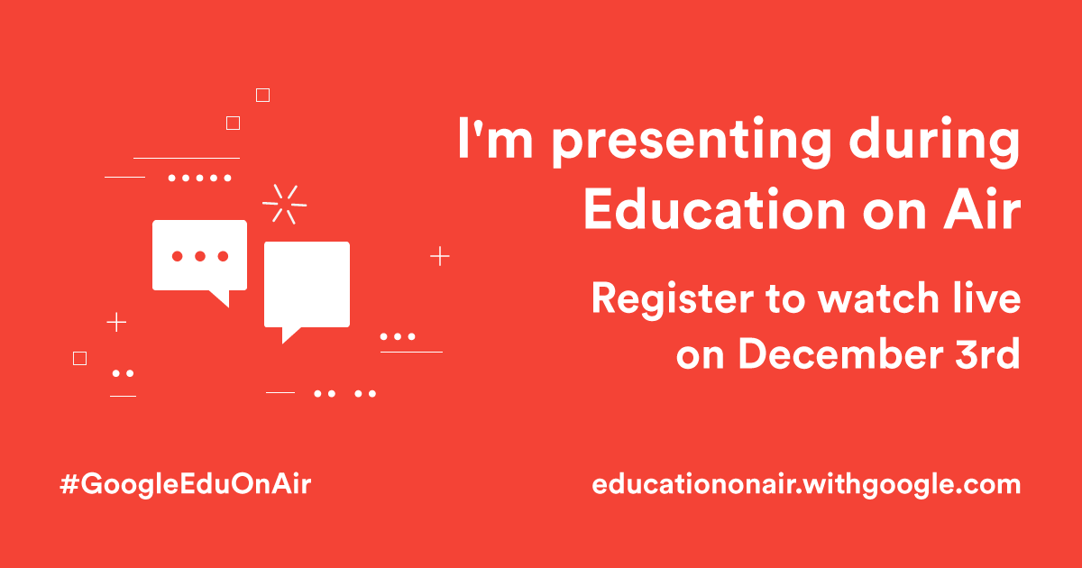 Google for Education on Air Badge