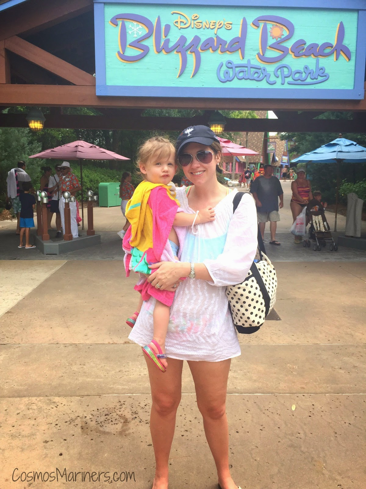 Doing Disney's Blizzard Beach Water Park with a Toddler | CosmosMariners.com