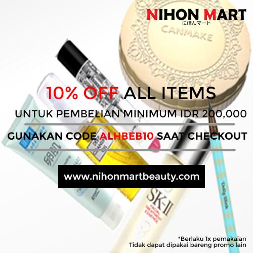 Get 10% off on Nihon Mart