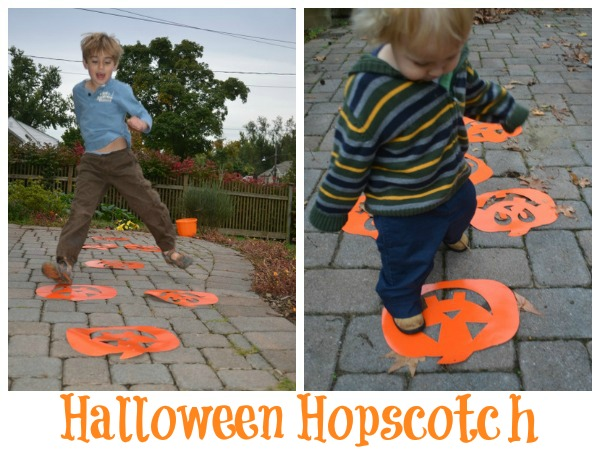 Halloween Gross Motor Fun