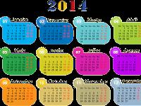 CALENDÁRIO 2014 COM TODOS OS FERIADOS E DATAS COMEMORATIVAS, FASES DA LUA, PARA IMPRIMIR, ONLINE