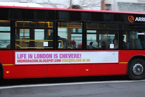 Venezolanos en Londres