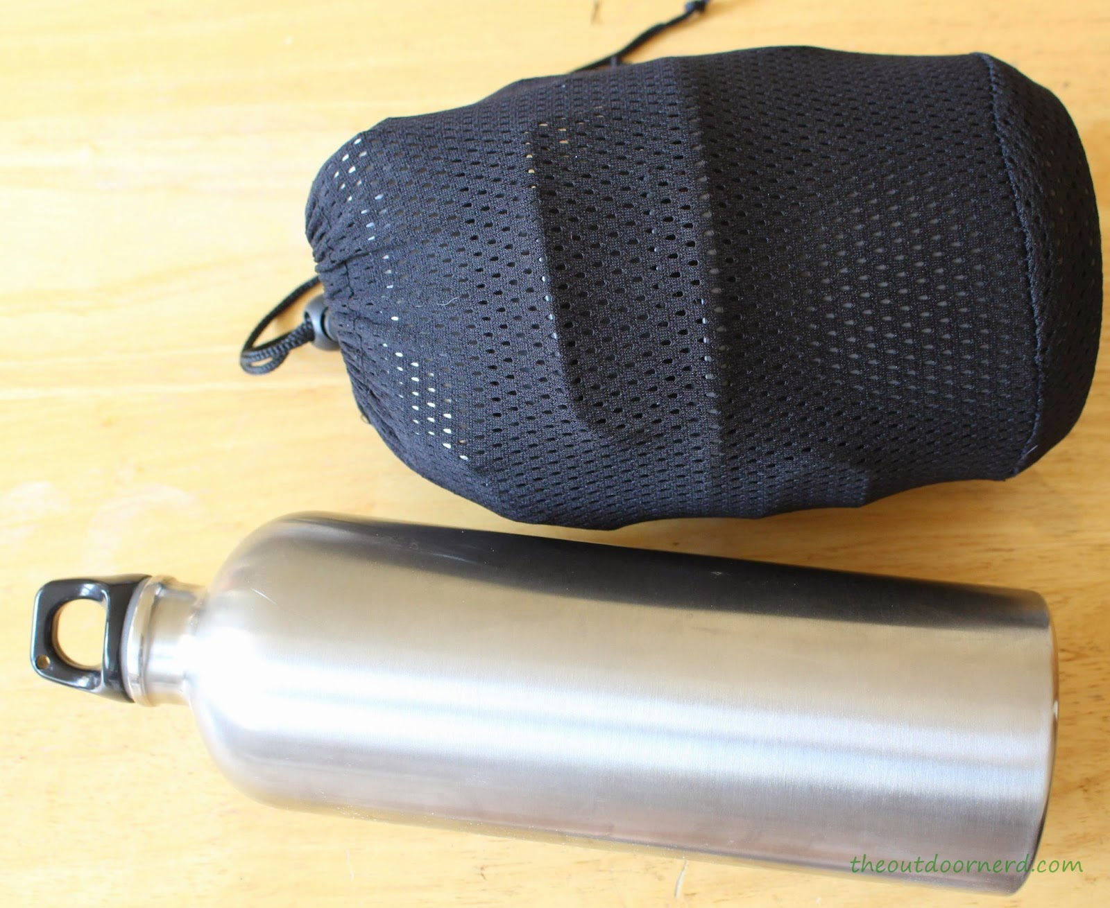 Cooking Kit with Stainless Steel Water Bottle