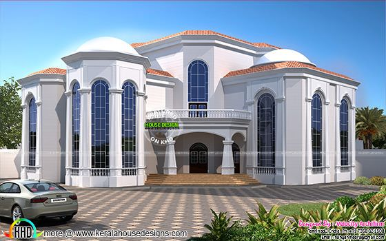 Big luxury home plan